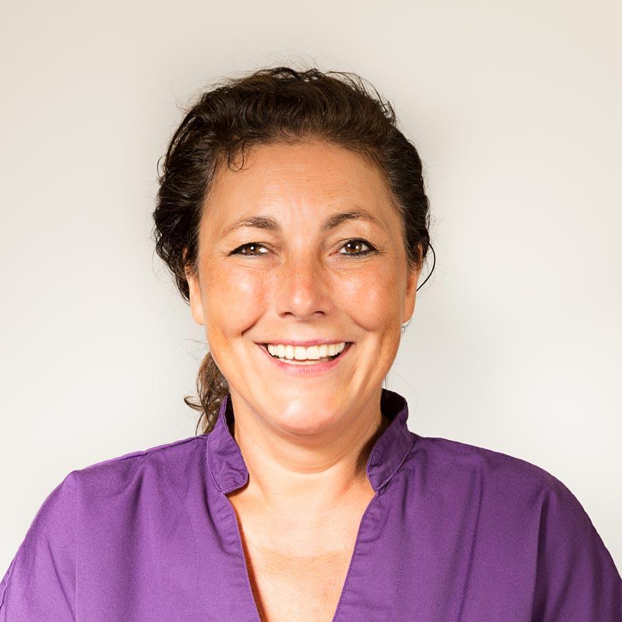 Tandartsassistente Yvonne Kipp